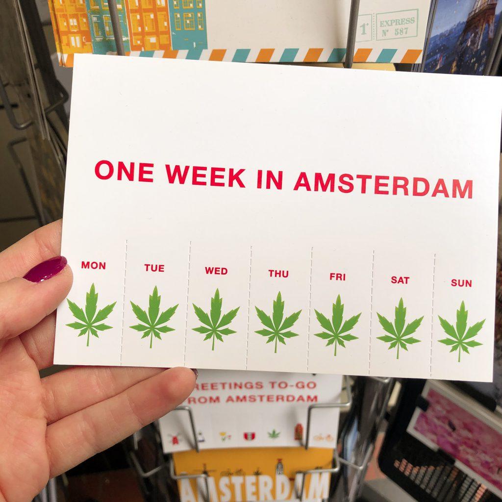 Miękkie narkotyki w Amsterdamie