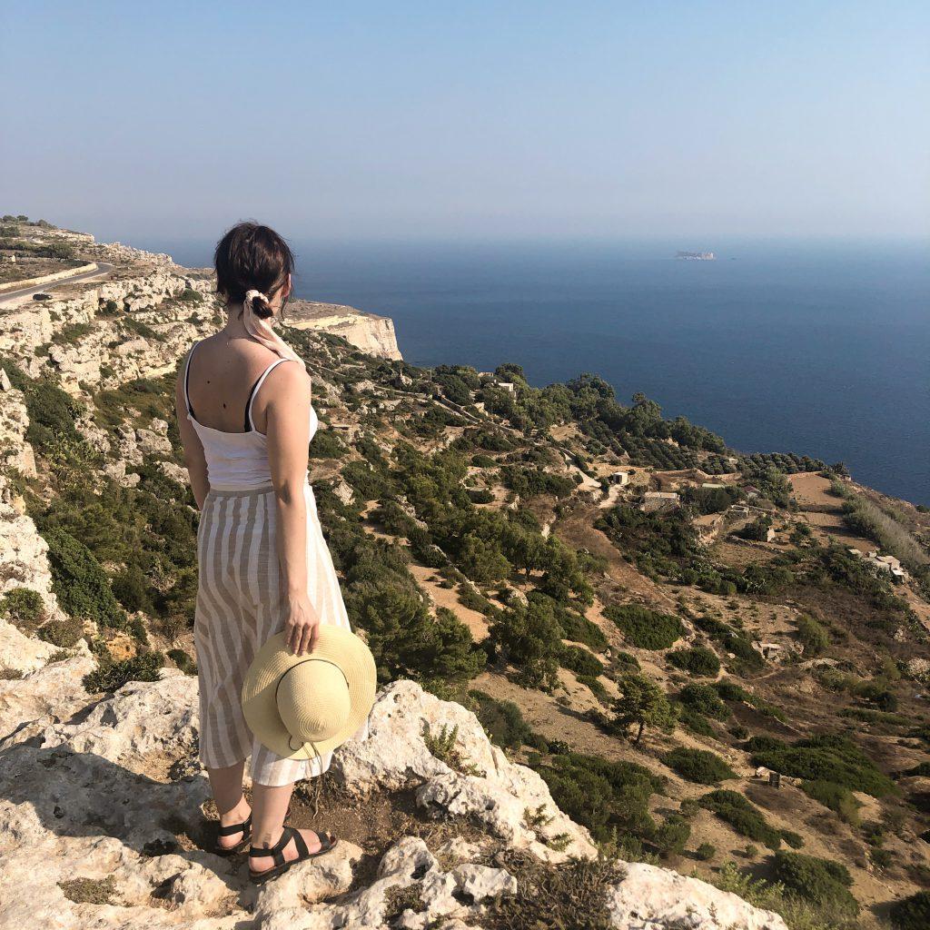Atrakcje Malty - Klify Digli