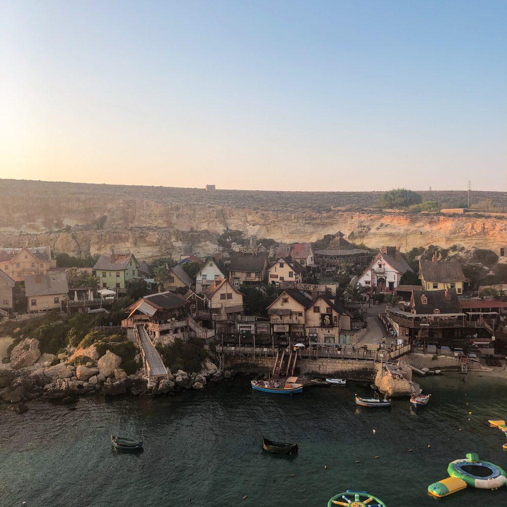 Wioska z filmu Popeye, Malta