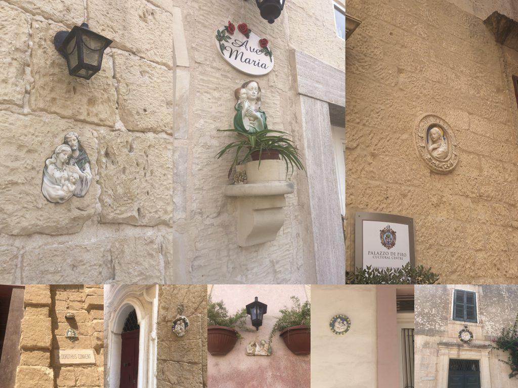 Malta -ceramiczne figurki