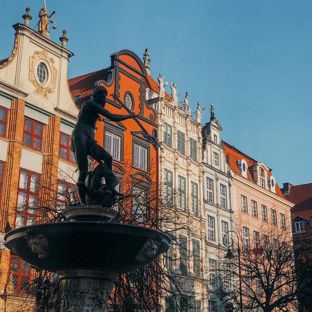 Fontanna Neptuna Gdańsk