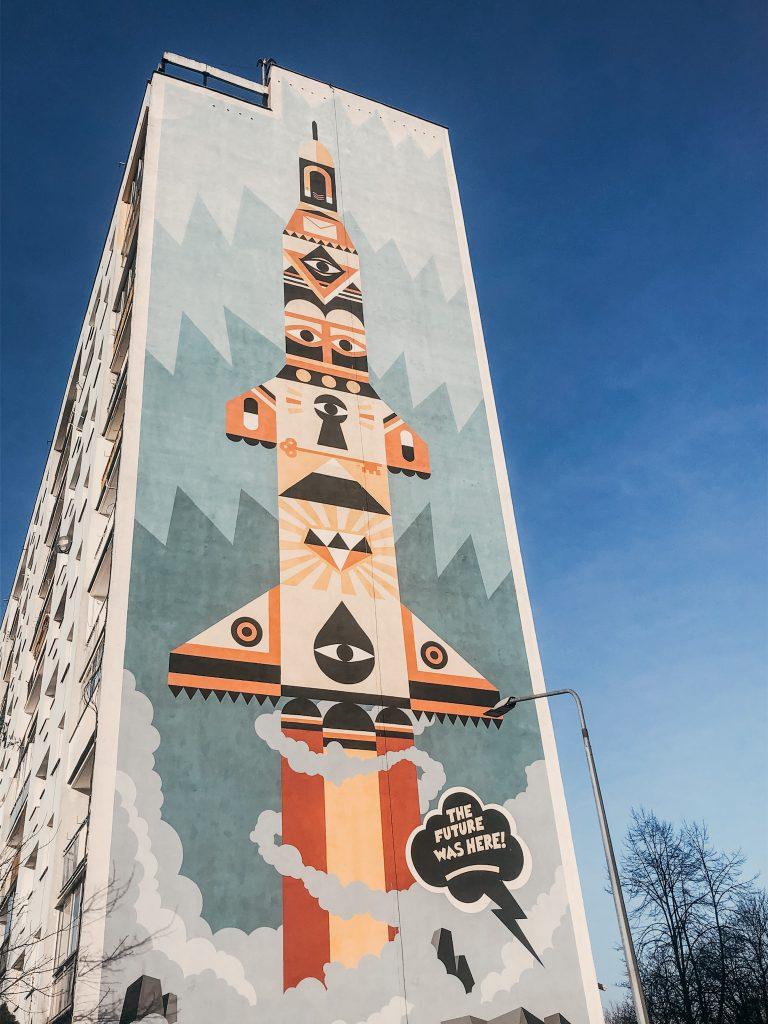 Gdańsk Zaspa - Mural