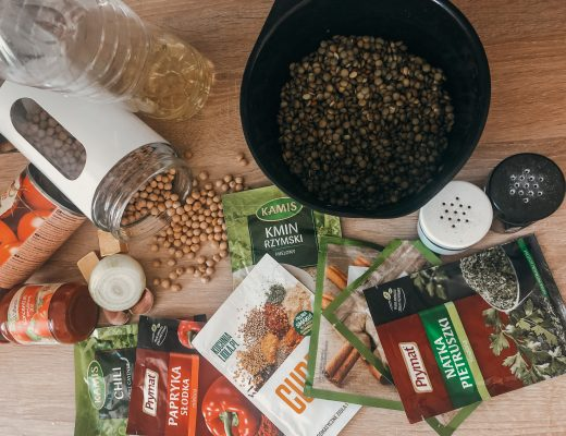 Zupa marokańska - składniki