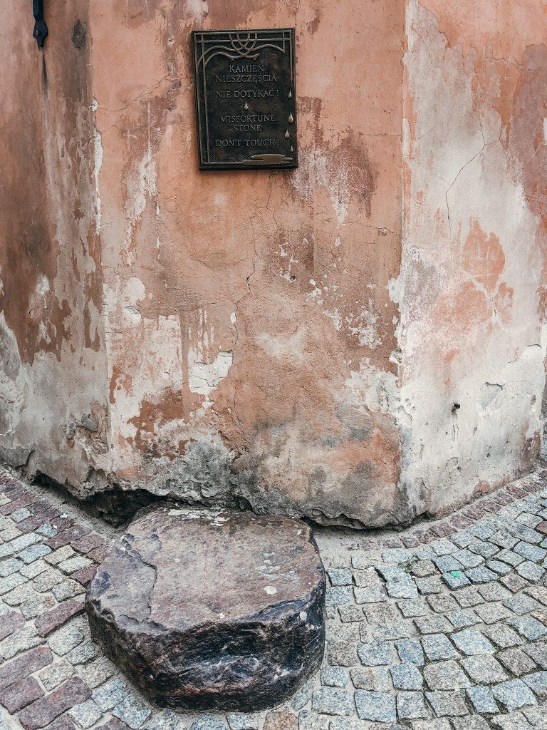 Kamień Nieszczęścia Lublin