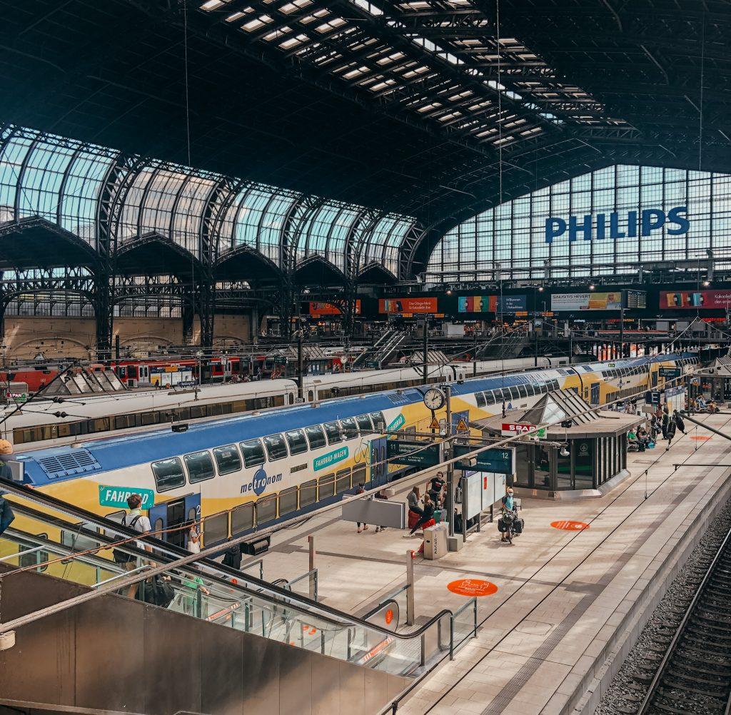 Dworzec w Hamburgu