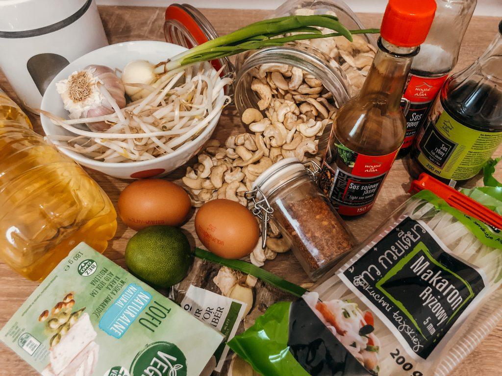 Pad Thai składniki
